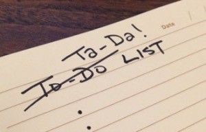 forget-to-do-list